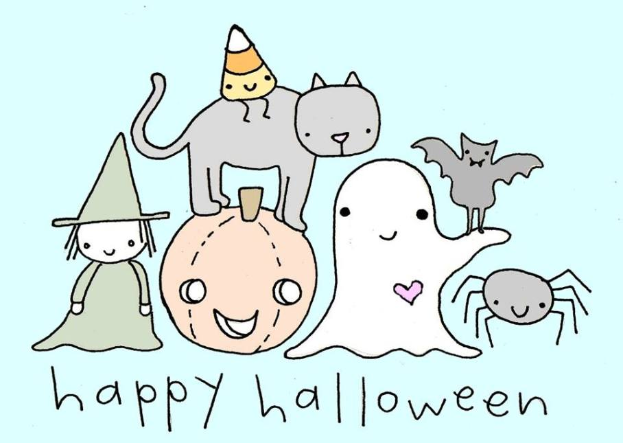 Trick or Treat! Happy Halloween!
